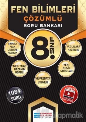 8. Sınıf Fen Bilimleri Çözümlü Soru Bankası