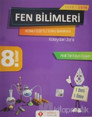 8. Sınıf Fen Bilimleri Konu Özetli Soru Bankası