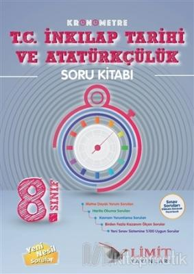 8. Sınıf Kronometre T.C. İnkılap Tarihi ve Atatürkçülük Soru Bankası