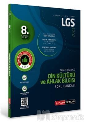 8.Sınıf LGS Din Kültürü ve Ahlak Bilgisi Tamamı Çözümlü Soru Bankası 2