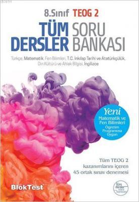 8. Sınıf Tüm Dersler Soru Bankası TEOG 2