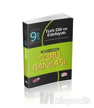 9. Sınıf Türk Dili ve Edebiyatı Özetli Lezzetli Soru Bankası