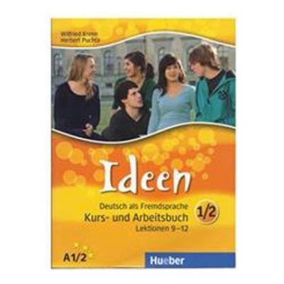 Ideen Deutsch als Fremdsprache Kurs- und Arbeitsbuch 1/2