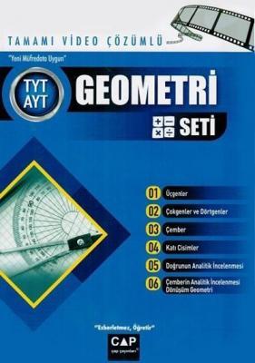 TYT AYT Geometri Seti Çap Yayınları Komisyon