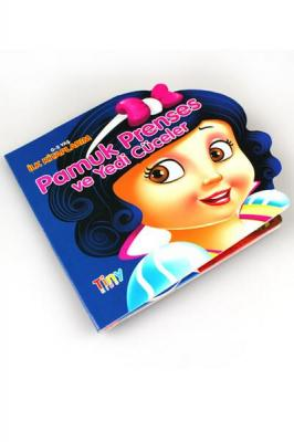Pamuk Prensen ve Yedi Cüceler İlk Kitaplarım Tiny Kids Komisyon