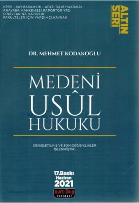 Medeni Usul Hukuku (Altın Seri) Mehmet Kodakoğlu