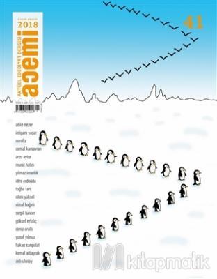 Acemi Aktüel Edebiyat Dergisi Sayı: 41 Kasım - Aralık 2018