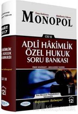 Adli Hakimlik Özel Hukuk Çözümlü Soru Bankası 2. Cilt