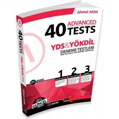 Akın Dil & Yargı Yayınları YDS & YÖKDİL 40 Advanced Tests 21. Baskı