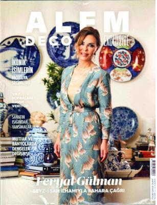 Alem  Deco Exclusive Dergisi Sayı:2019/1