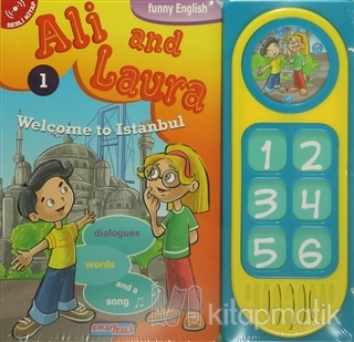 Ali and Laura 1 - Welcome to Istanbul (Sesli Kitap)