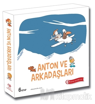 Anton ve Arkadaşları (6 Kitap Takım) Ole Könnecke
