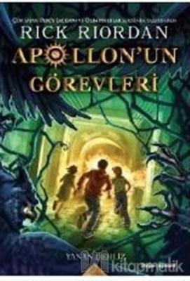 Apollon'un Görevleri 3 - Yanan Dehliz Rick Riordan