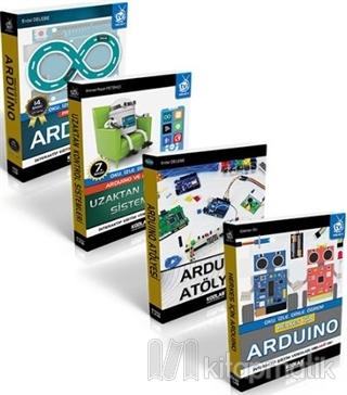 Arduino Atölye Seti (4 Kitap Takım)