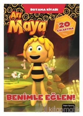 Arı Maya - Benimle Eğlen Boyama Kitabı Kolektif