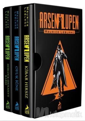 Arsen Lupen Seti (Ciltli 3 Kitap Takım) Maurice Leblanc