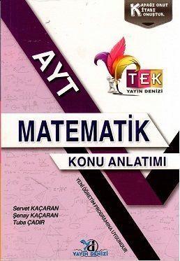 AYT Matematik TEK Serisi Konu Anlatımı Cep Kitabı