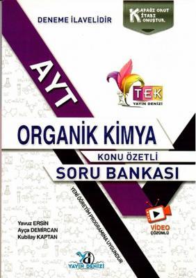 AYT TEK Serisi Organik Kimya Konu Özetli Soru Bankası