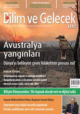 Bilim ve Gelecek Dergisi Sayı:192 Şubat 2020
