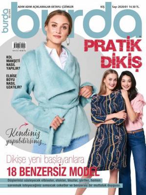 Burda Pratik Dikiş Dergisi Sayı:2020/01 / Kış