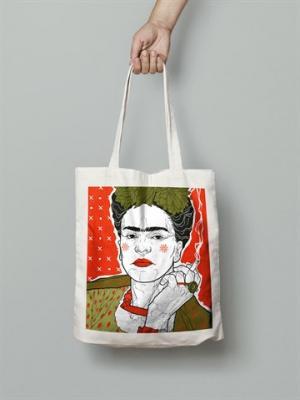 Frida Kahlo Bez Çanta