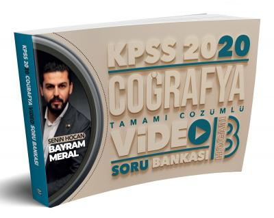 2020 KPSS Coğrafya Tamamı Çözümlü Video Soru Bankası Bayram Meral