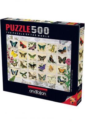 Puzzle 500 Parça Kelebekler