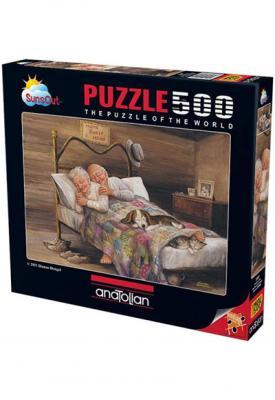 Puzzle 500 Parça Ev Gibisi Yok