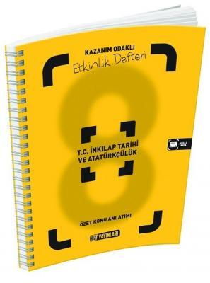 Hız Yayınları 8. Sınıf TC İnkılap Tarihi ve Atatürkçülük Etkinlik Deft
