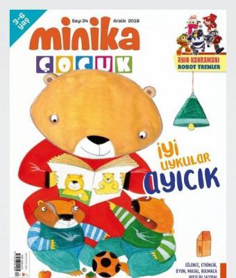 Minika Çocuk Dergisi Aralık 2018 Sayı:24