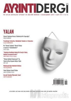 Ayrıntı Dergisi Sayı : 19 Ocak/Şubat 2017