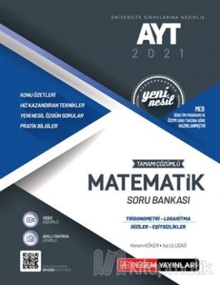 AYT 2021 Tamamı Çözümlü Matematik Soru Bankası Yeni Nesil (Trigonometr