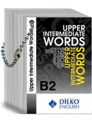 B2 Upper Intermediate Words Kelime Kartı