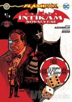 Batman İntikam Şövalyesi Sayı 1 - Flashpoint %10 indirimli Brian Azzar