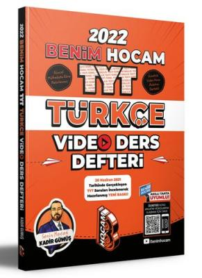 2022 TYT Türkçe Video Ders Defteri Kadir Gümüş