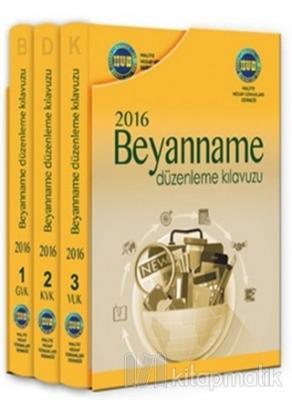 Beyanname Düzenleme Kılavuzu 2016 (3 Cilt Takım) (Ciltli)