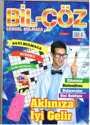 Bil-Çöz Bulmaca Dergisi Sayı: 37