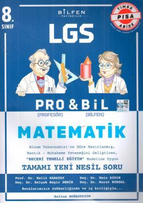 Bilfen Yayınları 8. Sınıf LGS Matematik PROBİL Soru Bankası Sultan Boğ