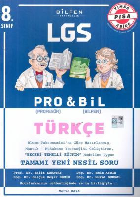 Bilfen Yayınları 8. Sınıf LGS Türkçe PROBİL Soru Bankası Merve Kaya