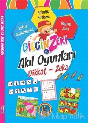 Bilgin Zeki ile Akıl Oyunları Dikkat Zeka - Mavi Seri