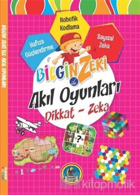 Bilgin Zeki ile Akıl Oyunları Dikkat Zeka - Pembe Seri