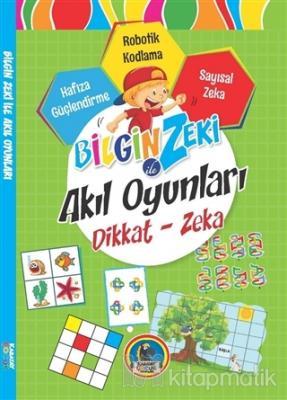 Bilgin Zeki ile Akıl Oyunları Dikkat Zeka - Yeşil Seri