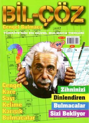 Bil-Çöz Bulmaca Dergisi Sayı:33