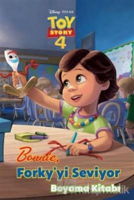 Bonnie Forky'yi Seviyor Boyama Kitabı