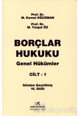 Borçlar Hukuku Genel Hükümler ( CİLT 1 ) %10 indirimli M. Kemal Oğuzma