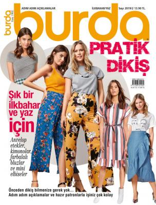 Burda Pratik Dikiş Dergisi Sayı: 2019/2