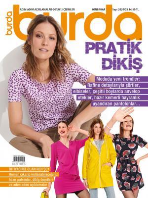 Burda Pratik Dikiş Dergisi Sayı:2020/03 - Sonbahar