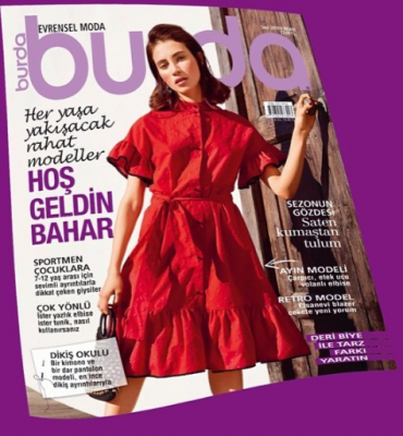 Burda Dergisi Sayı:2019/4 Nisan 2019