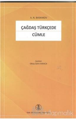 Çağdaş Türkçede Cümle