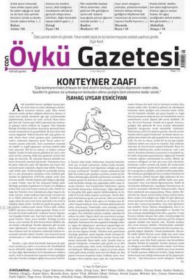 Can Aylık Öykü Gazetesi Sayı:8 Mayıs 2017